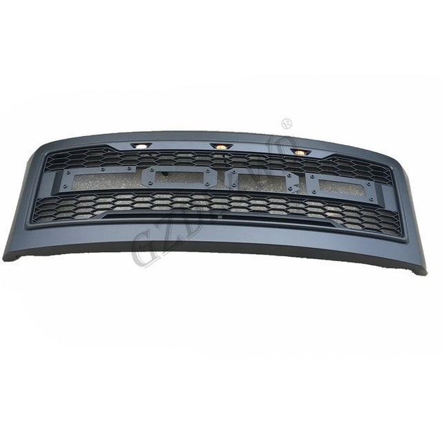 Easy To Install Front Grill Mesh For Ford Super Duty F250 2008 2010 With Lights / F350 Raptor Grill