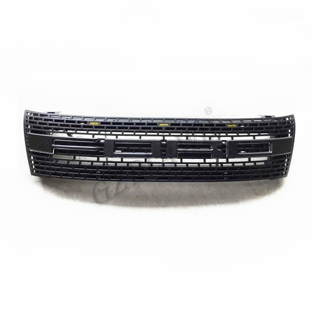 ABS Raptor Bumper Grille With LED For Ford Ranger T6 2012 2015 Ranger Body Kits