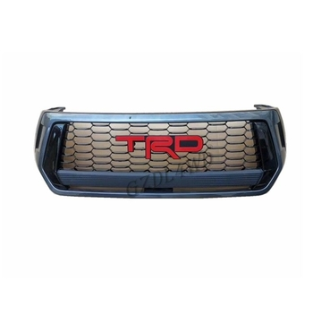Automotive Front Grill Mesh TRD For TOYOTA HILUX REVO 2019 Rocco Modified Grill