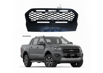 Ford Ranger PX3 Wildtrak Front Grill Mesh Matte Black With FORD Letters