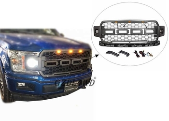2018  Raptor F150 Front Grill Mesh With Side LED F150 / Car Spare Parts