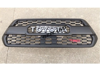 ABS Front Mesh Grill For Toyota Tacoma Grill 2016 + 2017 With Letter And TRD Logo