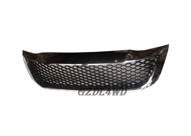 2012 ABS Plastic Front Grill Mesh Chromed Hilux Vigo Pickup In Stock