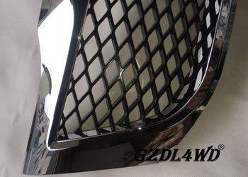 Toyota Hilux Vigo 2012 Front Grill Mesh Replacement Chrome Net ABS Plastic Solid