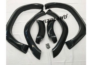 TRD Style ABS Plastic Wheel Arch Flares For Toyota Hilux Revo 2016 / Revo Accessories