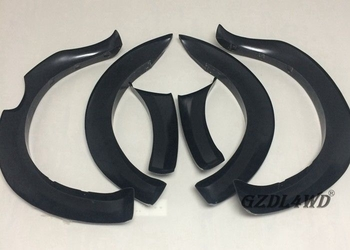 Gloss Black Wheel Arch Trim Fender For  Ranger T7 PX2 Wildtrak 2015 - 2017 GZDL4WD