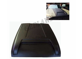 No Thai Version Car Hood Scoop For Ford Ranger T7 2015 2016 Black Color