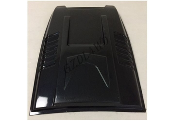Matte Black ABS Plastic Hood Bonnet Scoop For  Ranger 2016