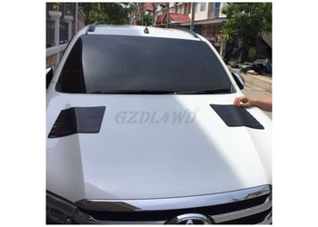 4x4 Hilux Revo Car Hood Scoop Auto Body Parts ABS Plastic With Self Adhesive Tape