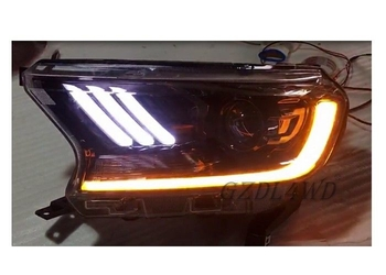Waterproof LED Car Headlights For Ford Ranger Wildtrak Accessories