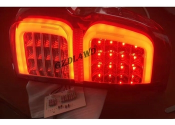 Yellow And White 4x4 Auto Parts 4x4 Driving Lights , Toyota Hilux Revo Tail Lights